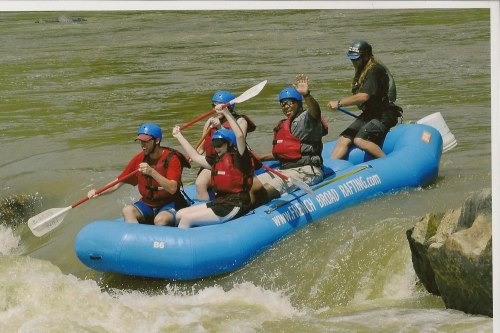 White_water_rafting
