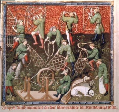 6th_grade_men_with_nets_from_the_fifteenth_century_manuscript_by_gaston_phebus