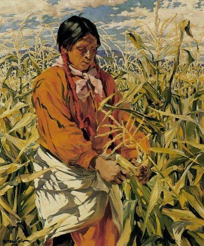 6th_grade_the_corn_picker_by_walter_ufer