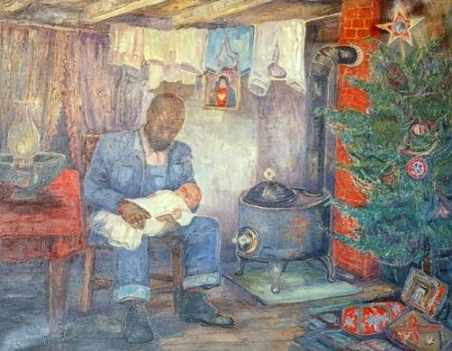 7th_grade_christmas_by_palmer_hayden