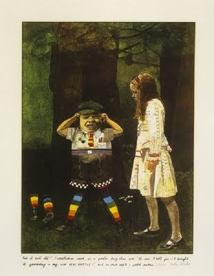 8th_grade_but_it_isnt_old_tweedledum_cried_illustration_to_lewis_carrolls_through_the_looking_glass_by_peter_blake