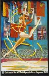 8th_grade_the_rhythmic_gymnast_by_ernie_barnes_1984