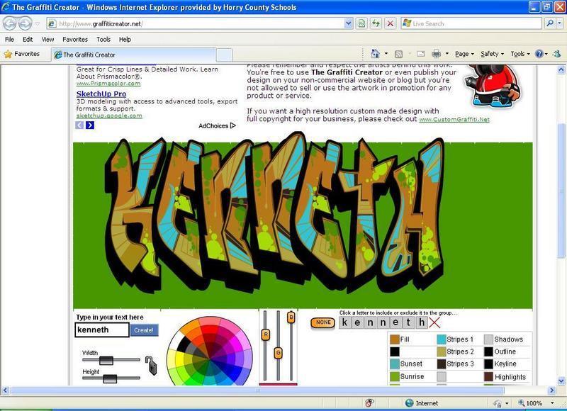 Graffiti Middle School Art Online Creative Writing